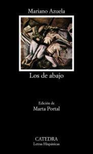 Portada de Los de abajo, de Mariano Azuela