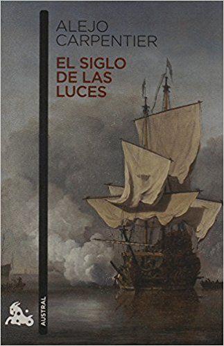 Portada de El siglo de las luces, de Alejo Carpentier