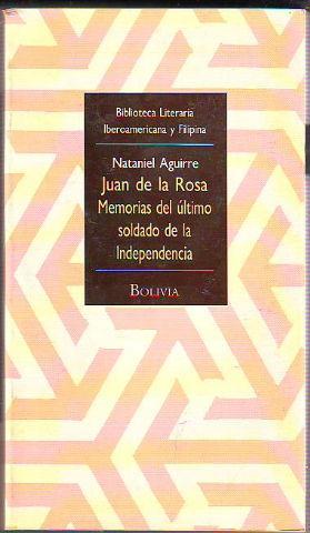 Portada de Juan de la Rosa, de Nataniel Aguirre