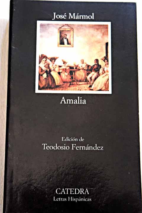 Portada de Amalia de José Mármol