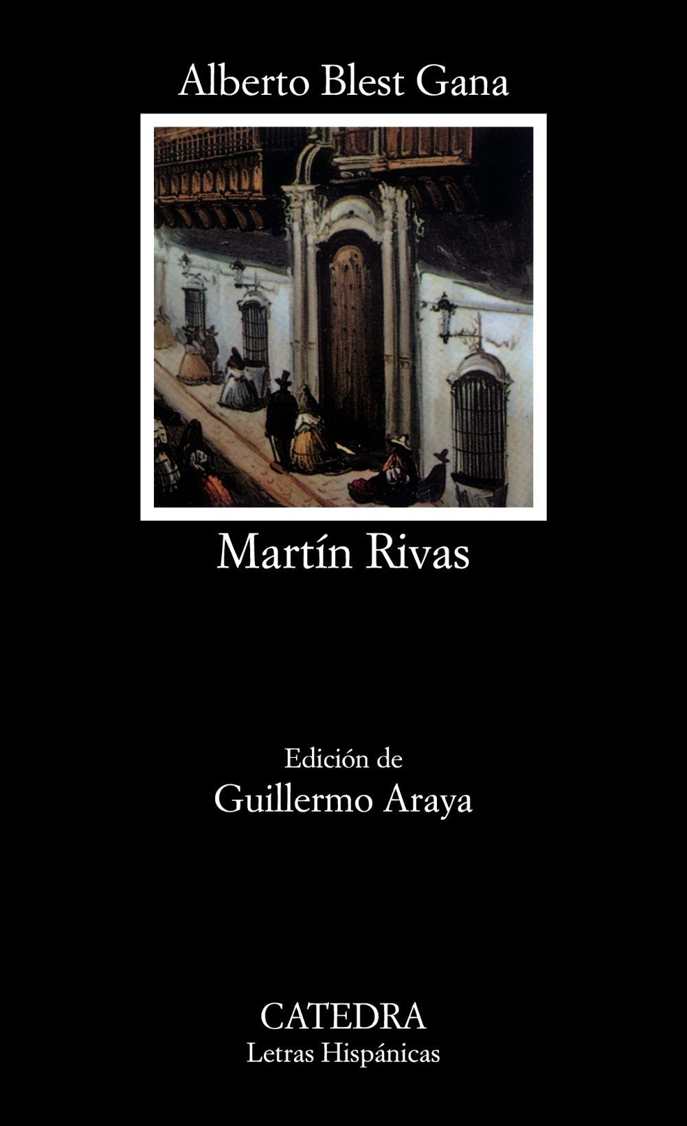 Portada de Martín Rivas, de Alberto Blest