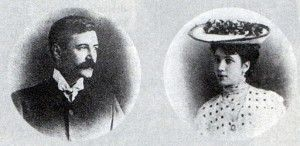 Jorge Guillermo y Leonor, padres de Jorge Luis Borges