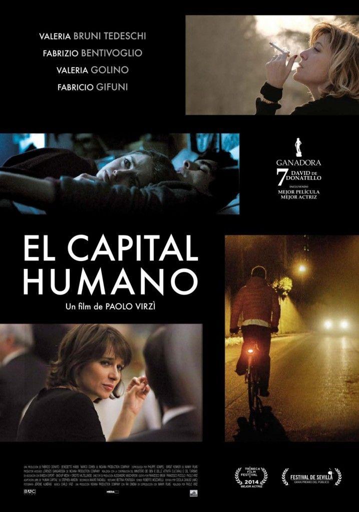 el capital humano-cartel Paolo Virzi