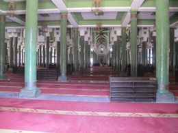 Interiores de la grande mosquée
