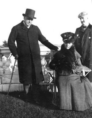 Henry James junto a Edith Wharton y Howard Sturgis, 1904