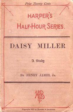 Primera edición americana de Daisy Miller en 1878