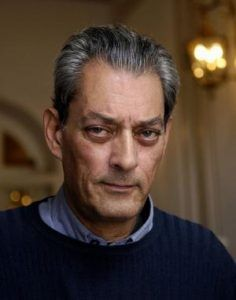 "smh spectrum books feb 16 credit getty images ( part of subs) SAN SEBASTIAN, SPAIN - SEPTEMBER 23: US writer and film director Paul Auster poses at Hotel Maria Cristina to promote his film ""The Inner Life of Martin Frost"" during the fourth day of the 55th San Sebastian Film Festival on September 23, 2007 in San Sebastian, Spain. (Photo by Ander Gillenea/Getty Images)"