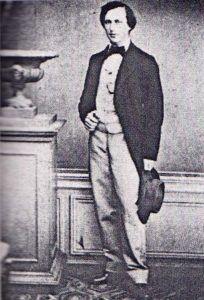 Henry James, con 16 años, en Ginebra relatos europeos