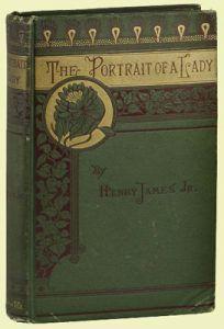 Primera edición norteamericana de El Retrato de una Dama, publicado en Boston el 16 de noviembre de 1881