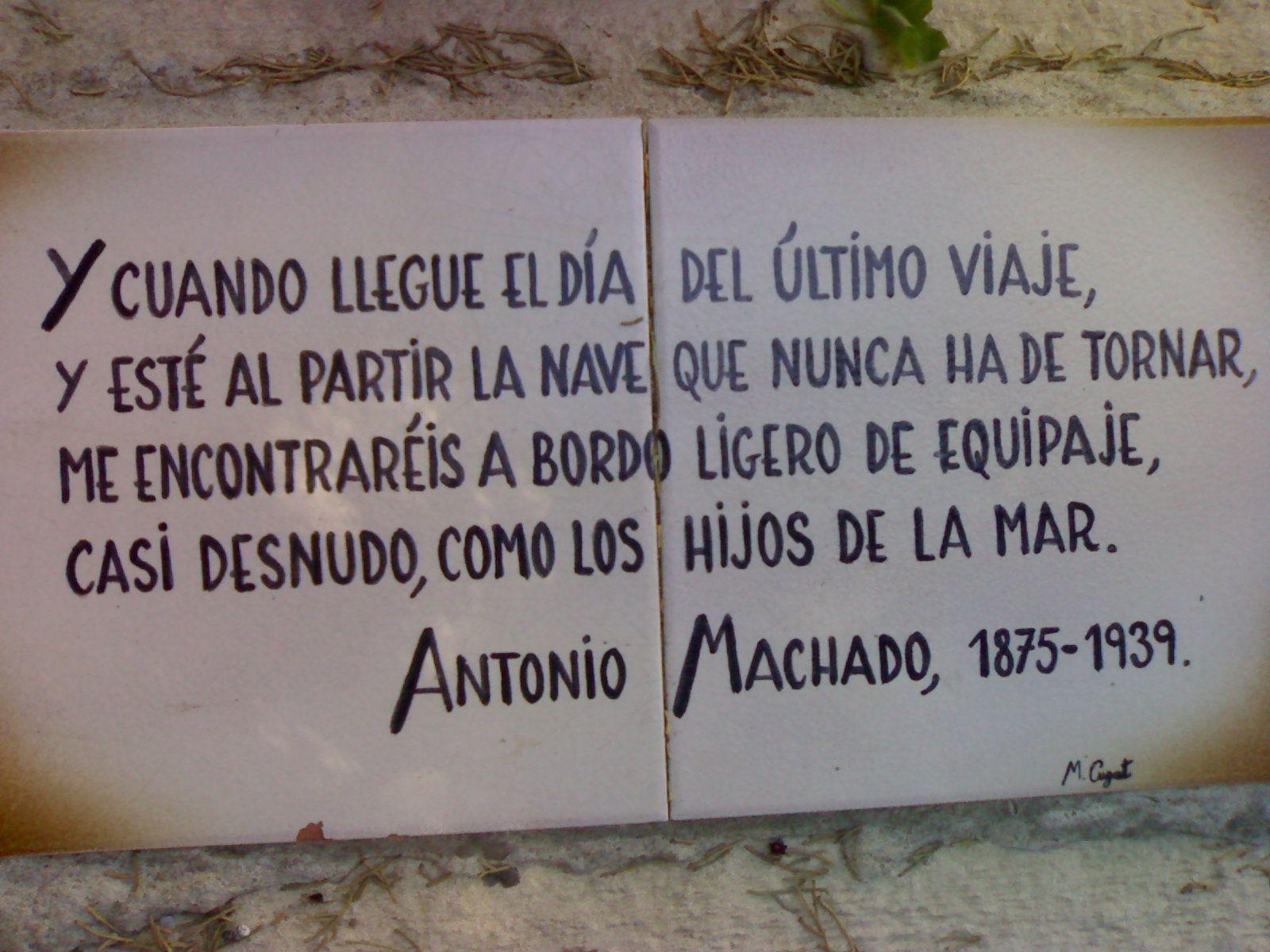 Poesias De Antonio Machado Cortas