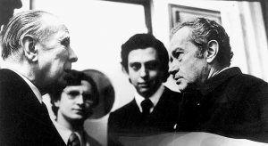 Jorge Luis Borges. Libros y vida. Las sombras del hacedor. Cicutadry