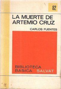 Portada de La muerte de Artemio Cruz, de Carlos Fuentes
