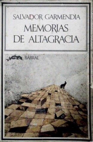Portada de Memorias de Altagracia, de Salvador Garmendia
