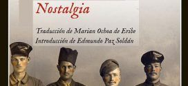 Portada de Nostalgia, de Mircea Cartarescu