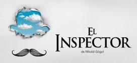 Cartel de El inpctor, de Nikolái Gógol