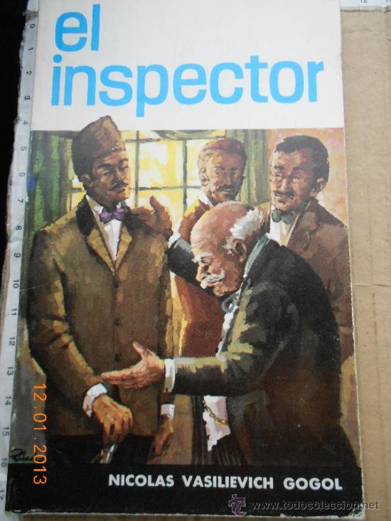 Portada de El inspector, de Nikolái Gógol