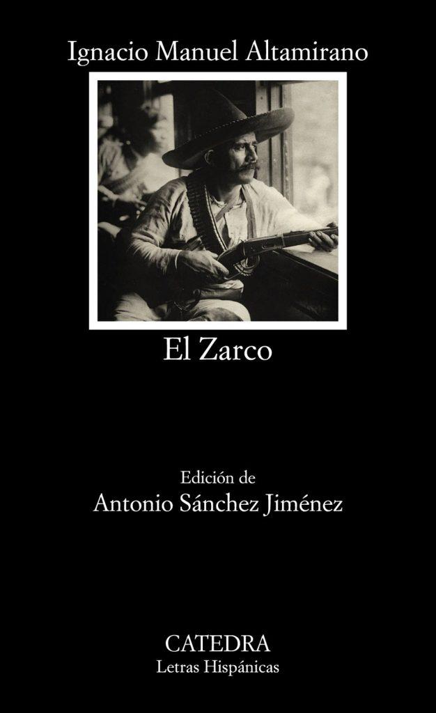 Portada de El Zarco, de Manuel Altamirano