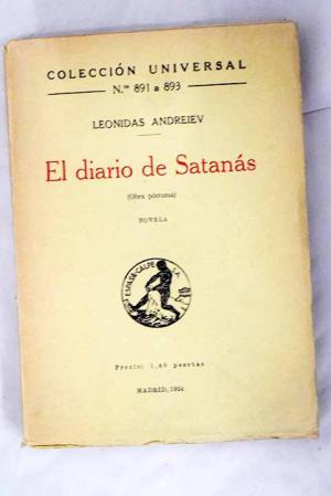 Portada de El diario de Satanás de Leonid Andréiev