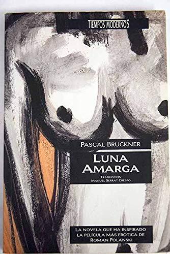 Portada de Luna amarga, de Pascal Bruckner