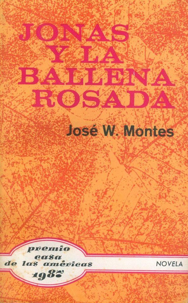 Portada de Jonás y la ballena rosada, de José Wolfango Montes