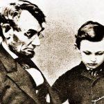 Lincoln con su hijo
