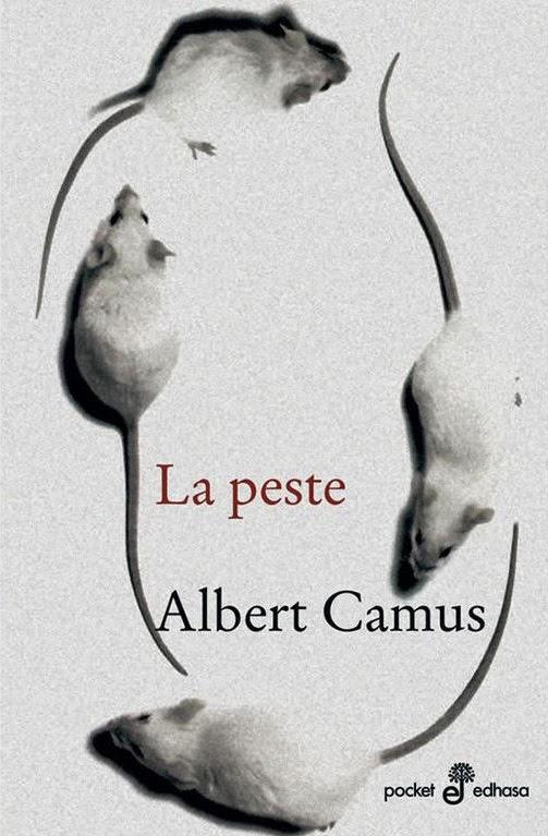 Portada de La peste, de Albert Camus