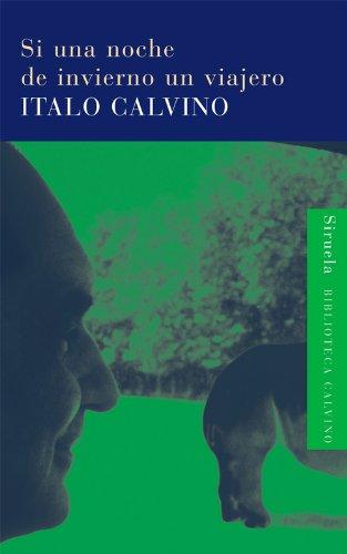 Portada de Si una noche de invierno un viajero, de Italo Calvino