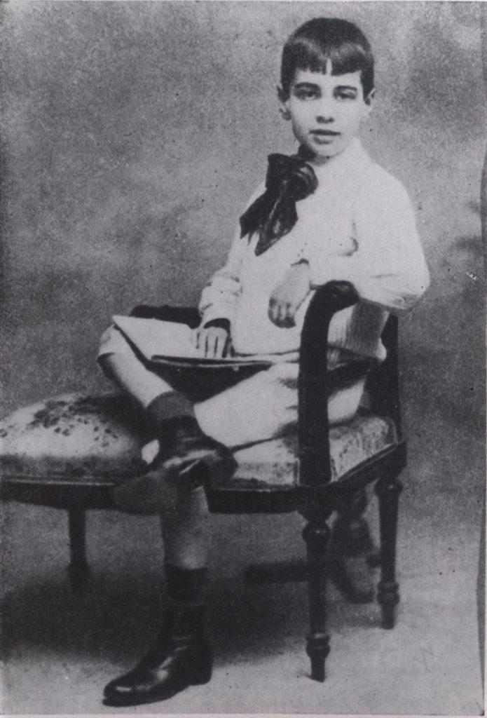 Borges niño