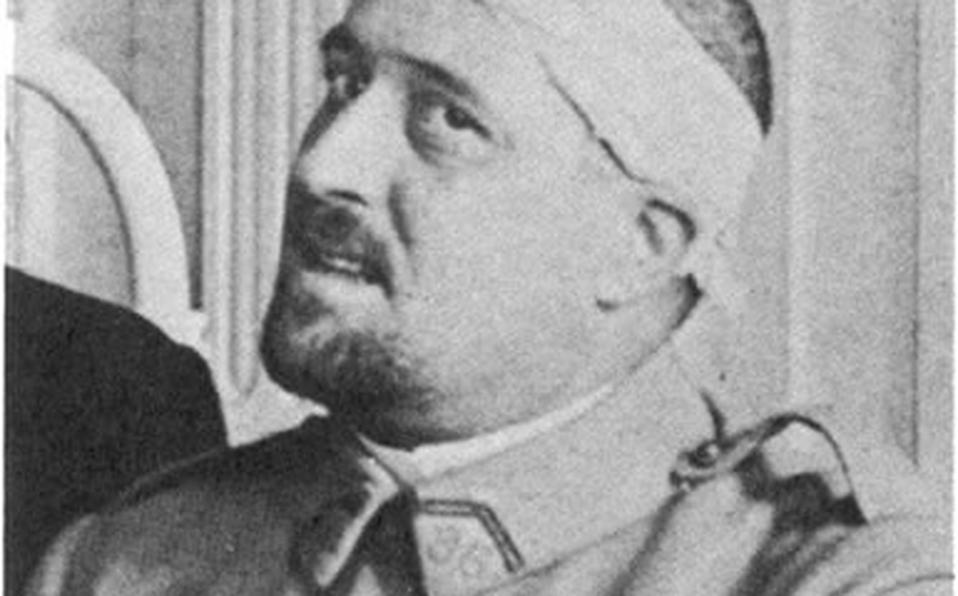 Guillaume Apollinaire en 1917