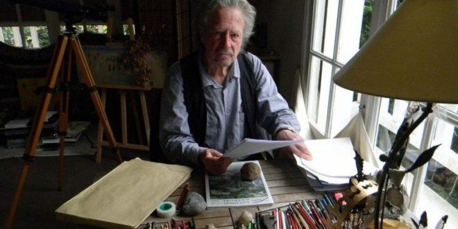 Retrato de Peter HandkePeter Handke