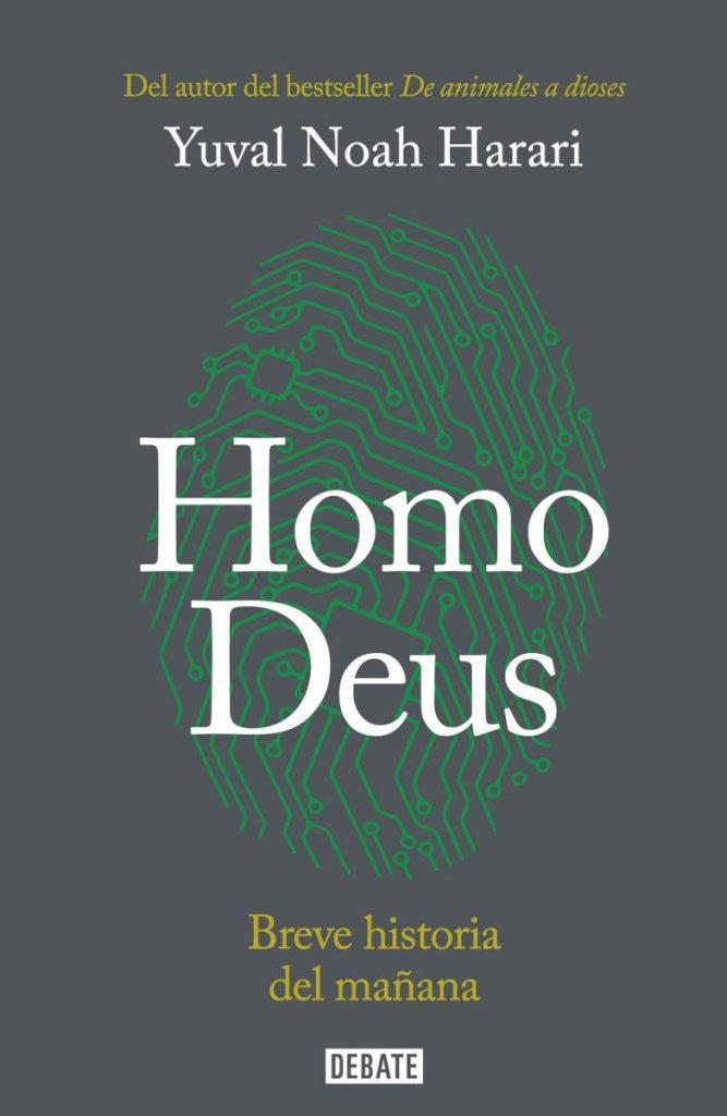 Portada de Homo Deus, de Yuval Noah Harari