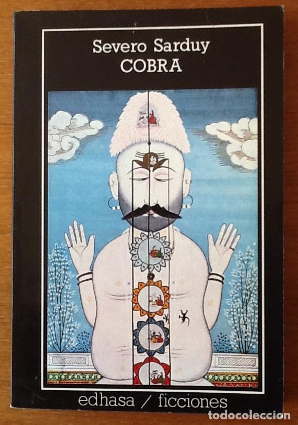Portada de Cobra, de Severo Sarduy