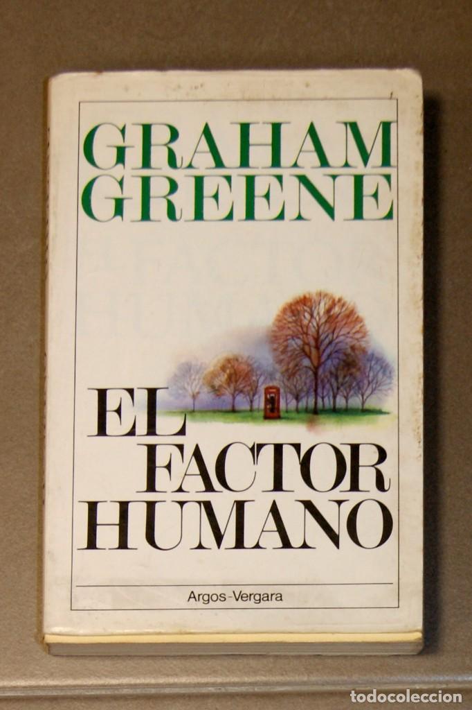 Portada de El factor humano, de Graham Greene