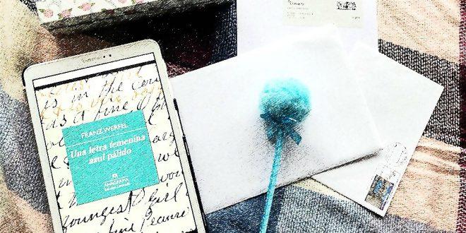Una letra femenina azul pálido-Franz Werfel