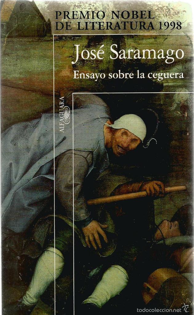 Portada Ensayo sobre la ceguera, de José Saramago