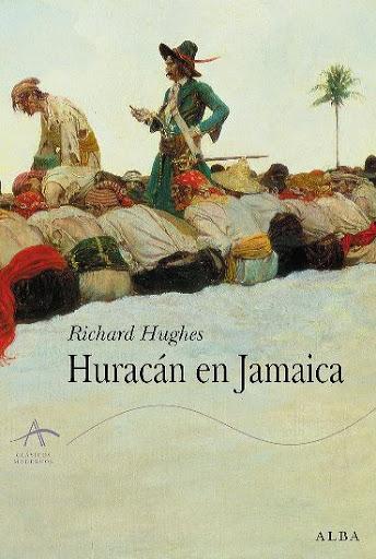 Portada de Huracán en Jamaica, de Richard Hughes