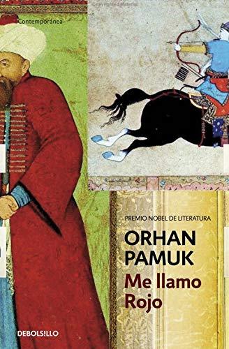 Portada de Mellamo Rojo, de Orhan Pamuk